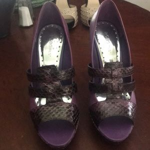 BCBG Purple heels